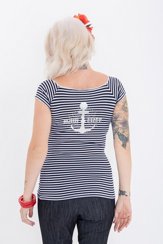 WOMEN'S TOP SAILOR (stripes)