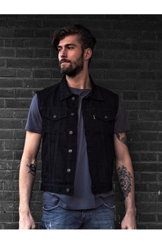 MCS Denim Vest (black)