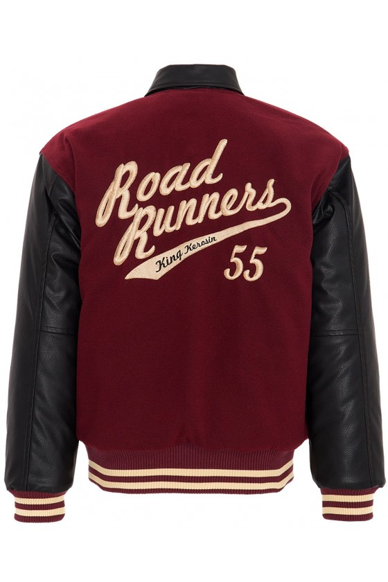 COLLEGE JACKET ROADRUNNERS (bordeaux)