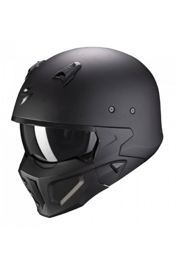 Motorcycle Helmet Covert-X Solid (matte black)