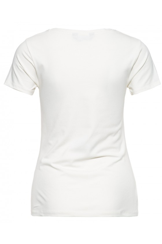 LADIES T-SHIRT TUNE UP (offwhite)