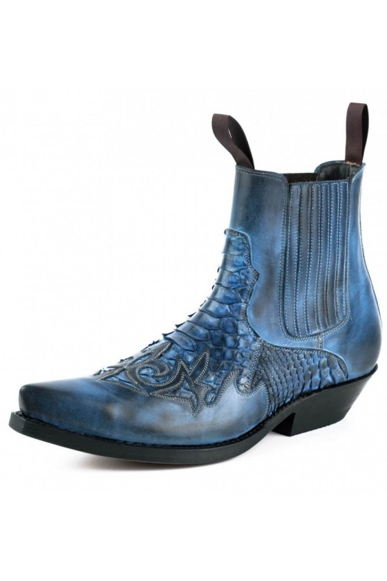 ANKLE BOOTS ROCK 2500 (blue)