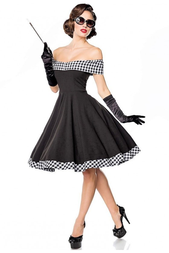 SWING DRESS (black)