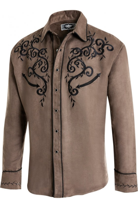Men's Shirt Anthony (taupe)