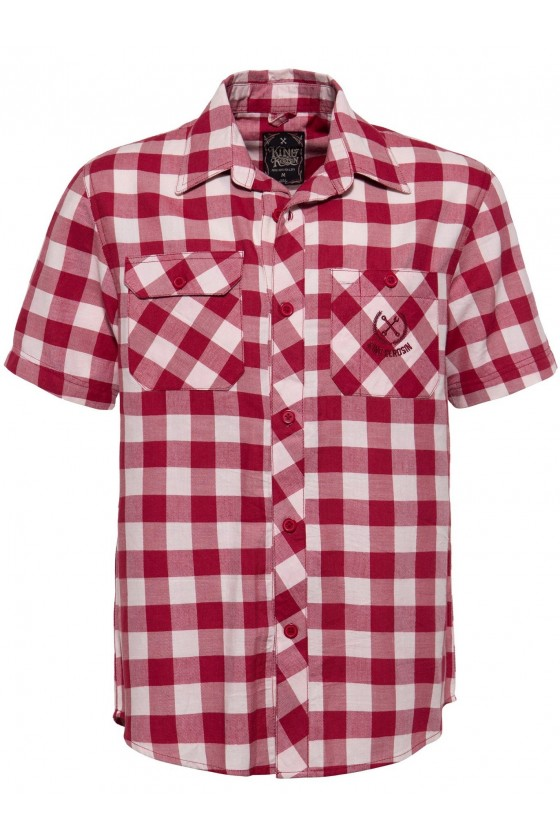 SHORT SLEEVED SHIRT BAD & FAST (red)