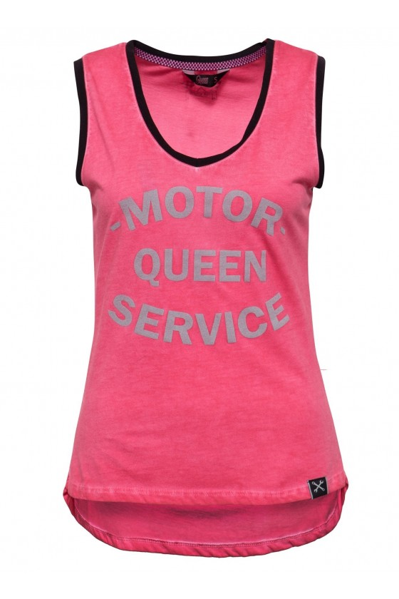 WOMEN'S TOP MOTOR QUEEN (red)