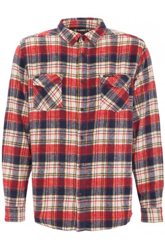 MULTI COLORED FLANNEL SHIRT...