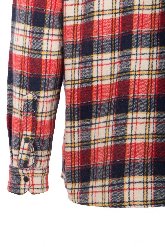 MULTI COLORED FLANNEL SHIRT (checkered)