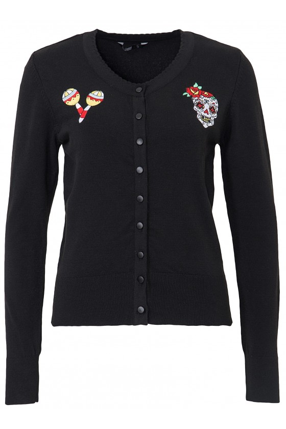 MEXICO STYLE CARDIGAN (black)