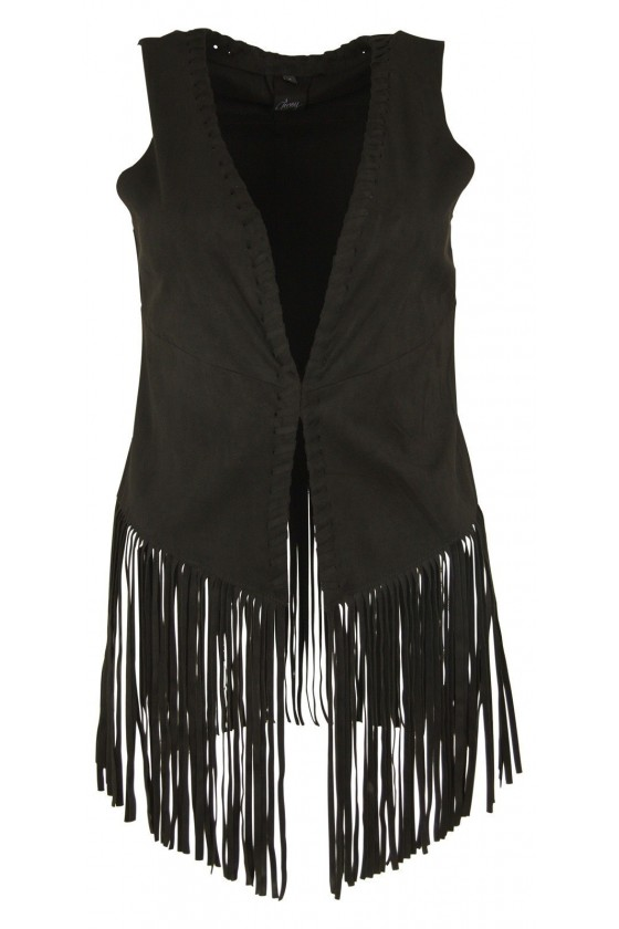 Women's Vest Selda (black)