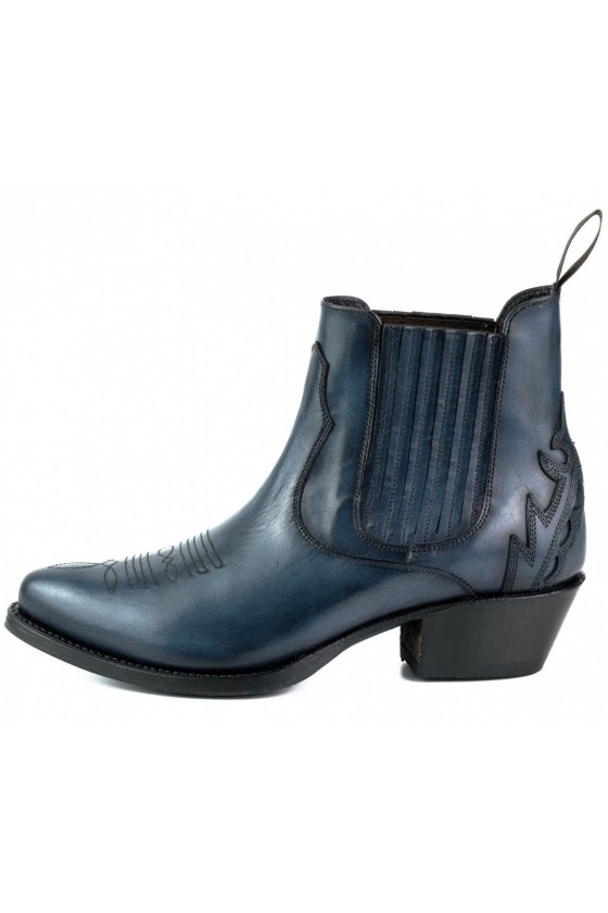 WOMEN'S ANKLE BOOTS MARILYN (dark blue)