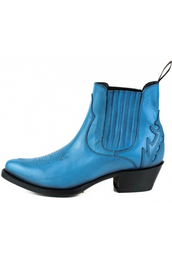 WOMEN'S ANKLE BOOTS MARILYN (blue)
