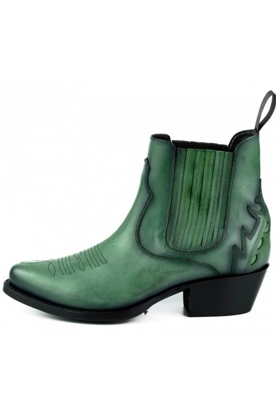 WOMEN'S ANKLE BOOTS MARILYN (green)