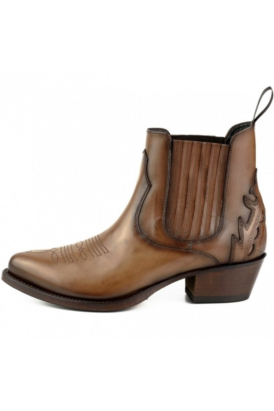 WOMEN'S ANKLE BOOTS MARILYN (brown)