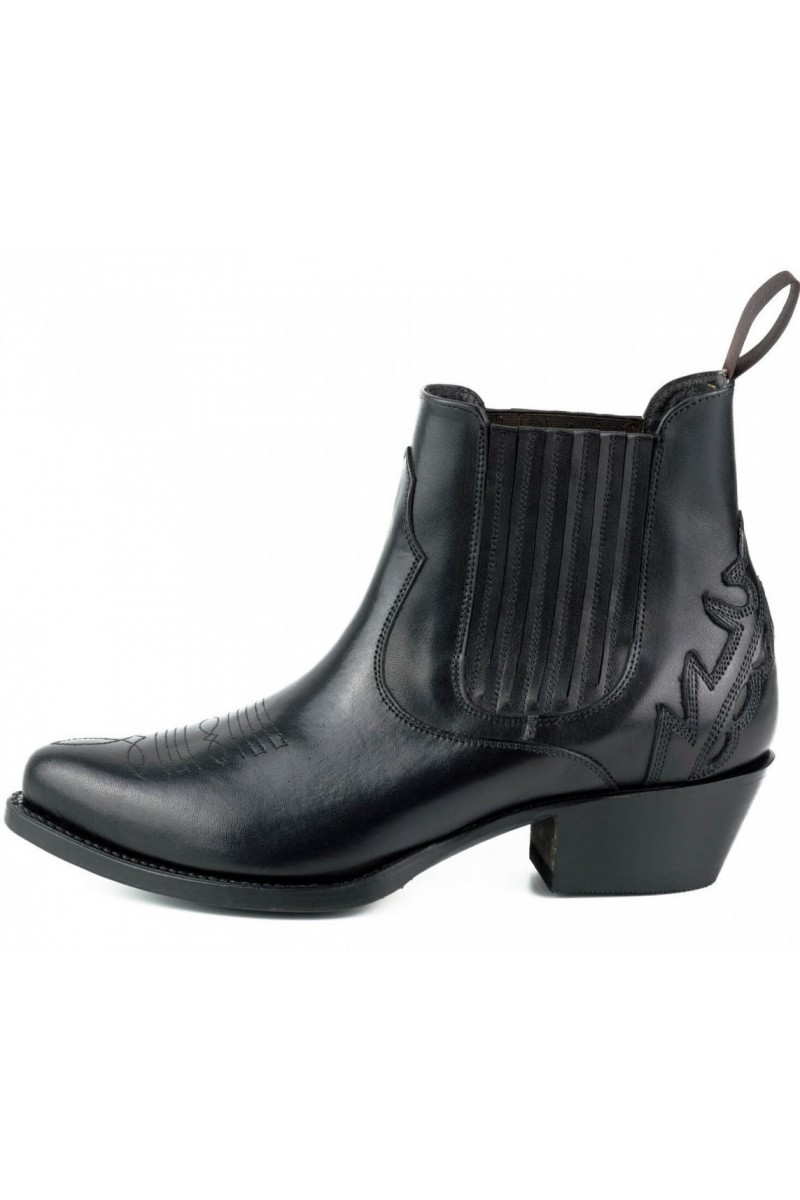 WOMEN'S ANKLE BOOTS MARILYN (black)