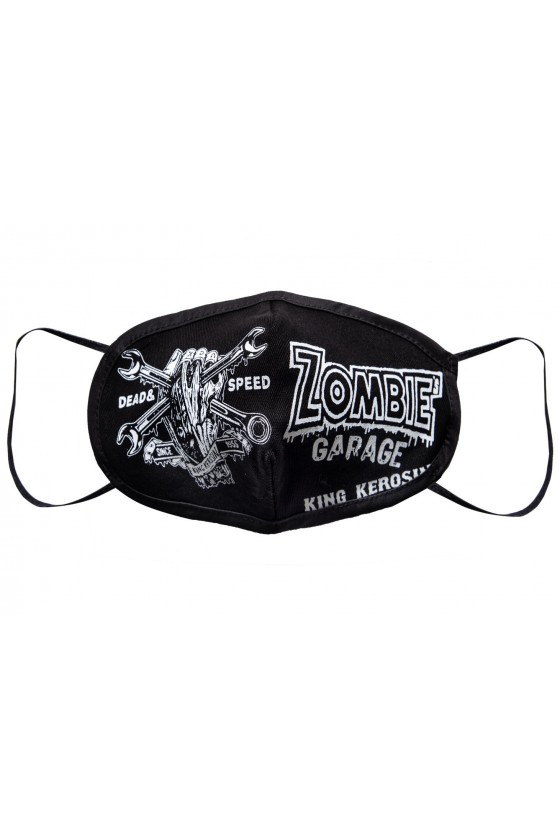 PROTECTIVE MASK ZOMBIE'S GARAGE (black)