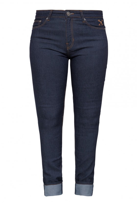 SLIM FIT JEANS (dark blue)