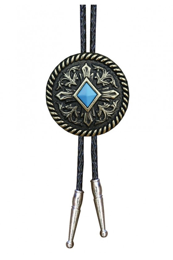 BOLOTIE WITH LEATHER CORD