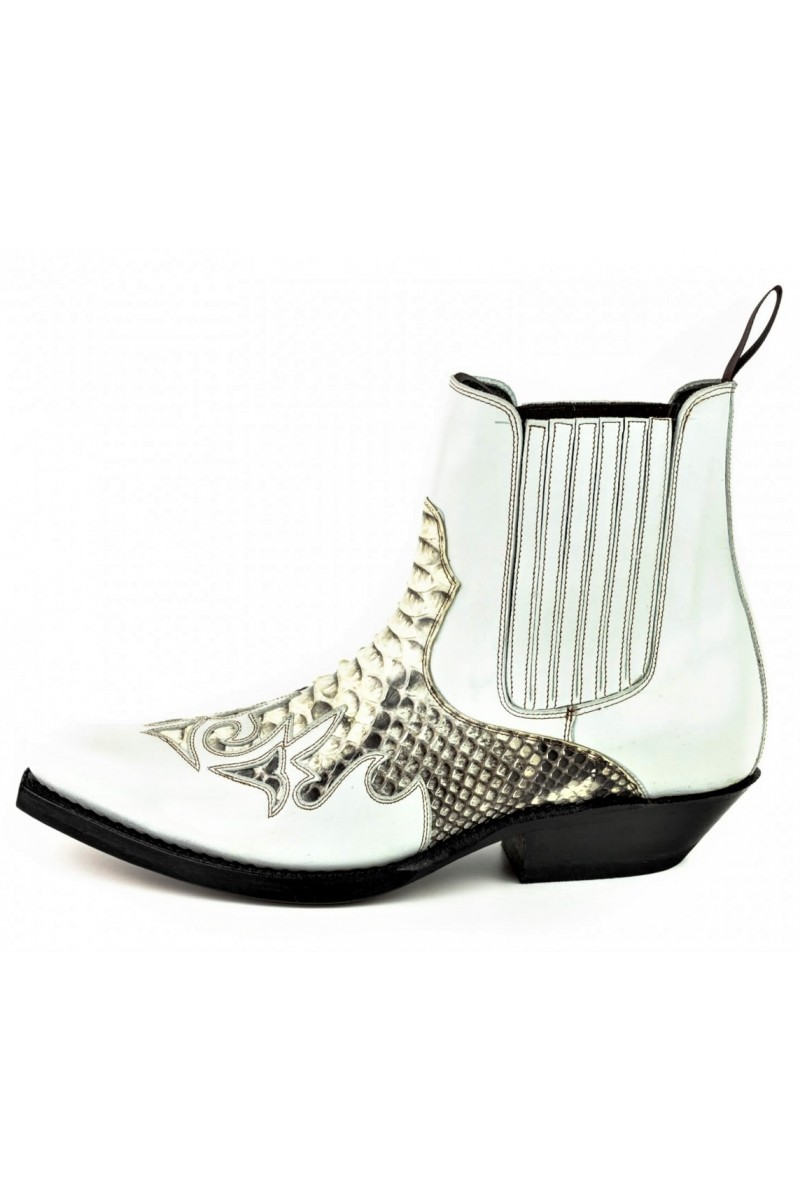 ANKLE BOOTS ROCK 2500 (white)