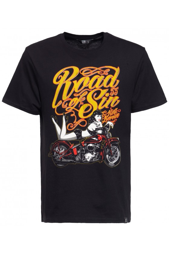 ROAD OF SIN T-SHIRT (black)