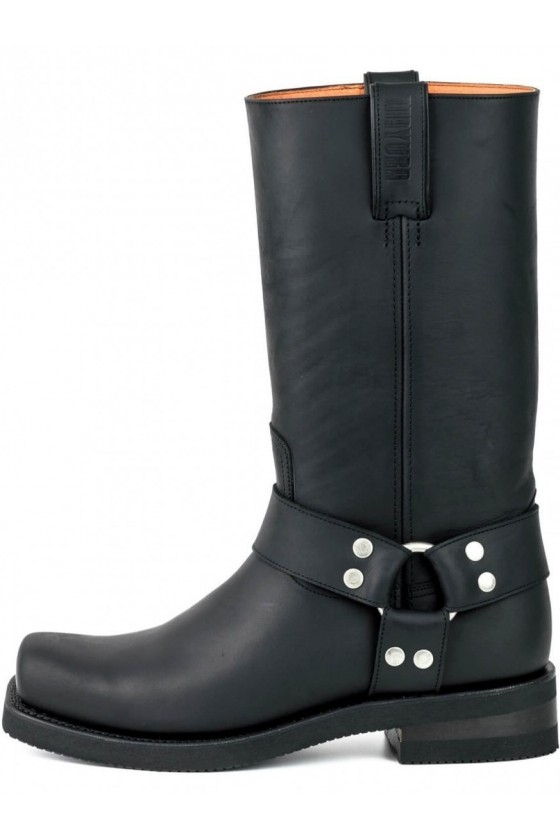 RUBBER SOLE CRUISER BOOTS (black)