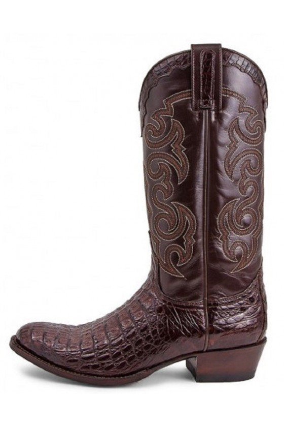 LEATHER BOOTS DOM (brown)