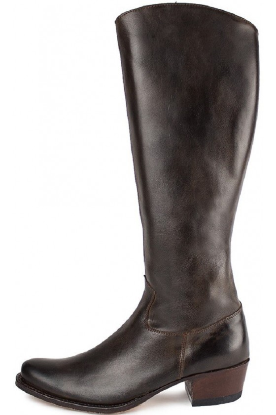WOMEN'S LONG SHAFT BOOTS DIERLY (dark brown)