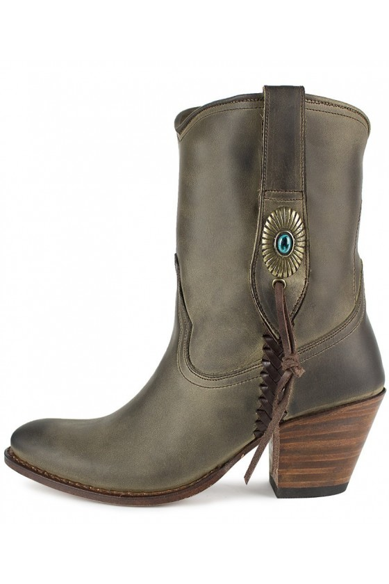 WOMEN'S ANKLE BOOTS LALY (khaki)