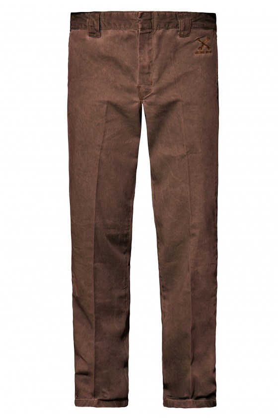 WORKWEAR STYLE JEANS (brown)