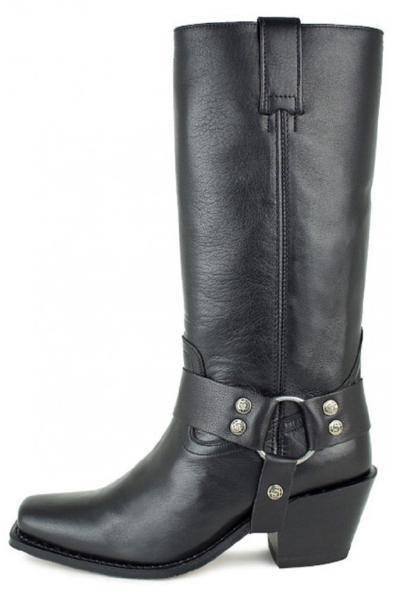 LEATHER BOOTS LAURA (black)