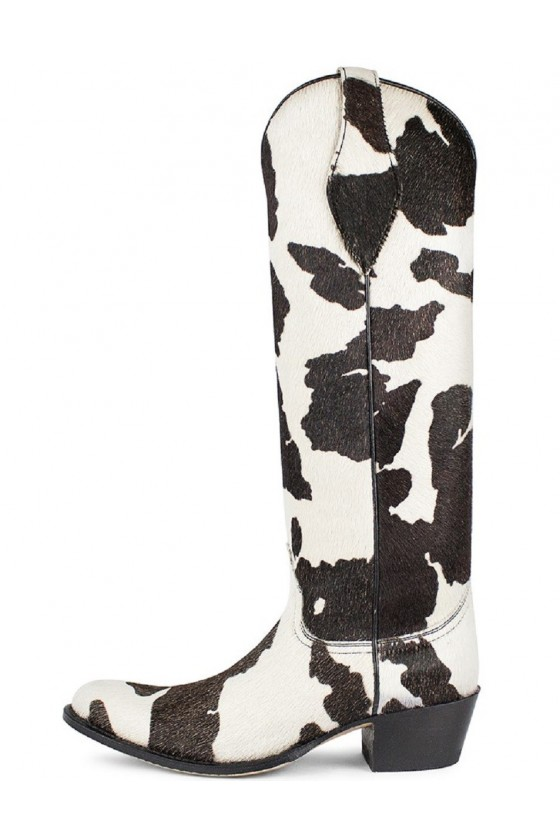 Women's Long Boots Torito (white/black)