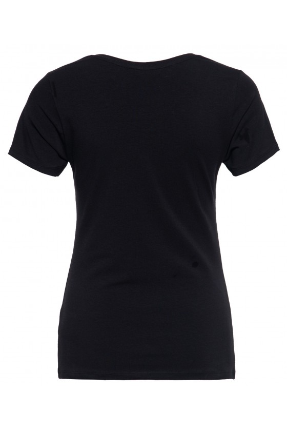 WOMEN'S T-SHIRT BOOM (black)