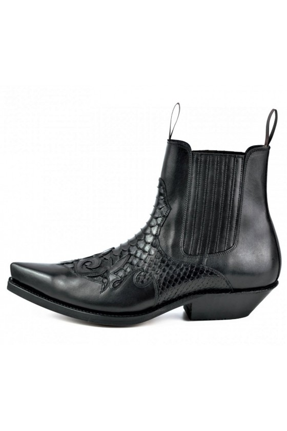 ANKLE BOOTS ROCK 2500 (black)