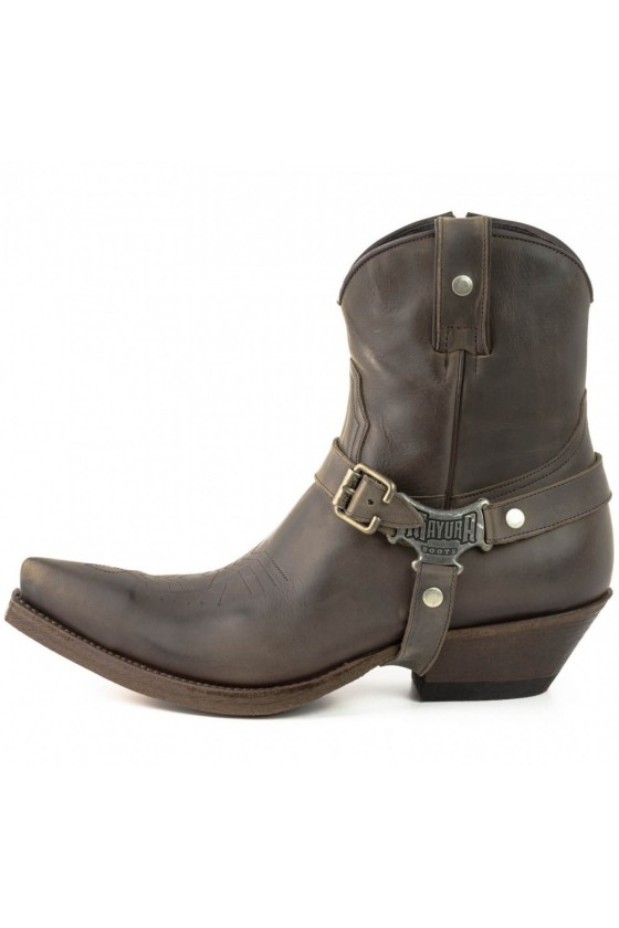 ANKLE BOOTS COWBOY CLASSIC (brown)
