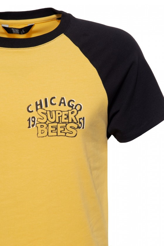 T-SHIRT SUPER BEE (curry)