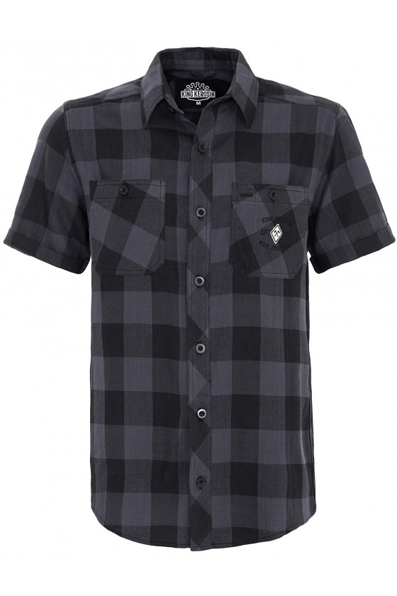 CHECKED SHIRT WITH...