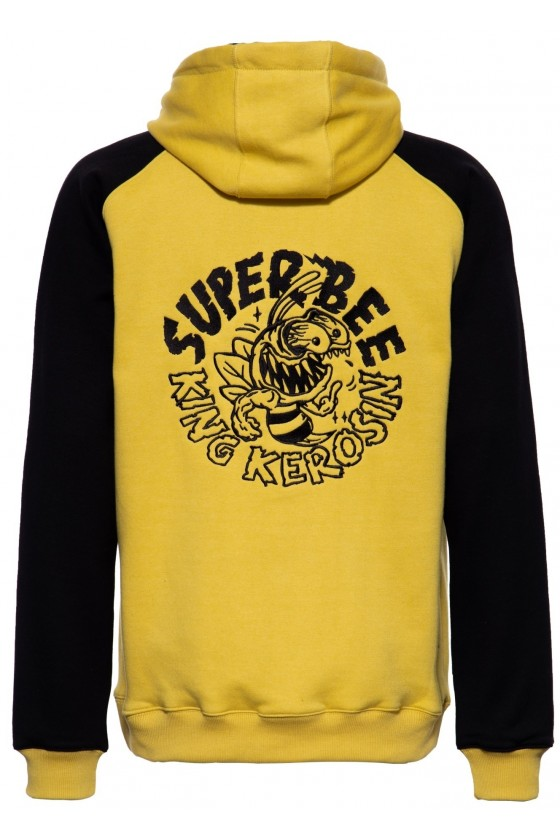 SWEAT JACKET SUPER BEE (yellow)