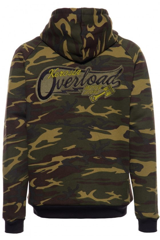 WITH SEPARATE LINING JACKET OVERLOAD (camouflage)