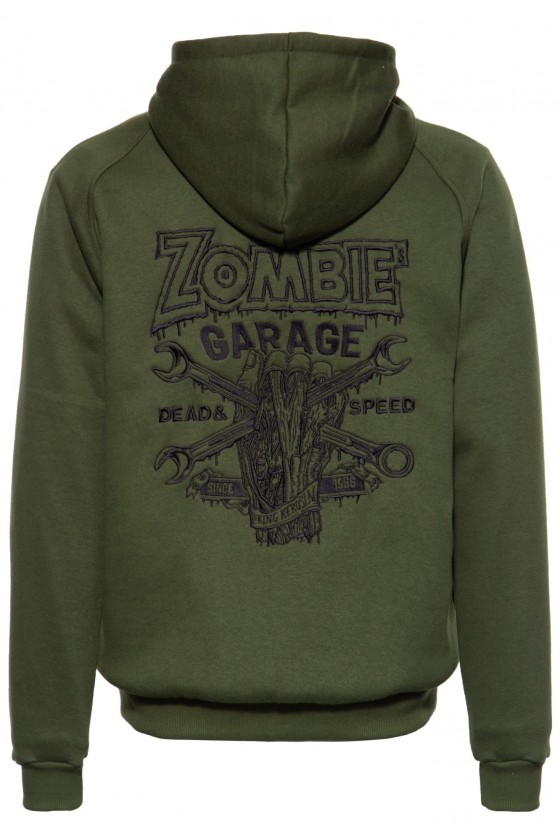 WITH SEPARATE LINING JACKET ZOMBIE GARAGE (olive)
