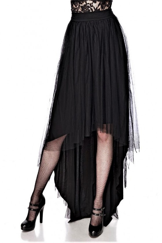 GOTHIC TULLE SKIRT (black)