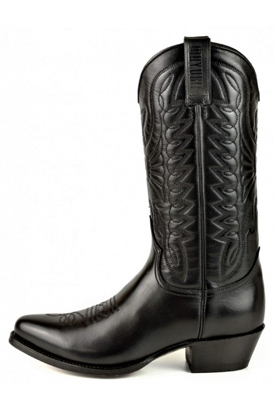 WOMEN'S LEATHER BOOTS ARPIA 2534 (black)