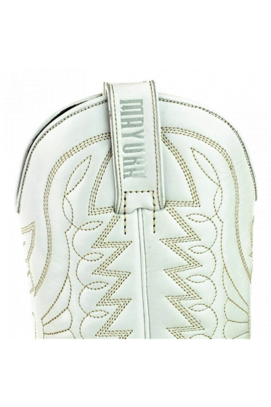 WOMEN'S LEATHER BOOTS ARPIA 2534 (white)