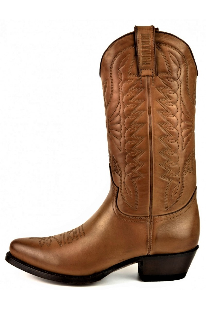 WOMEN'S LEATHER BOOTS ARPIA 2534 (brown)