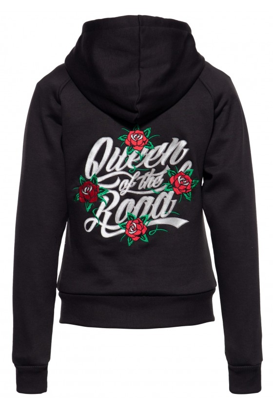 SOFTSHELL SWEAT JACKET QUEEN OF THE ROAD (black)