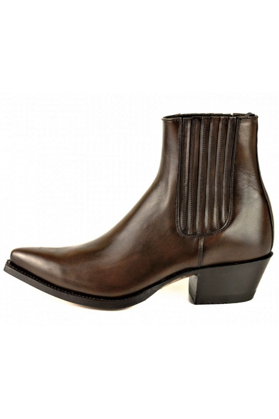 WOMEN'S ANKLE BOOTS MARIE NAPPA (brown)