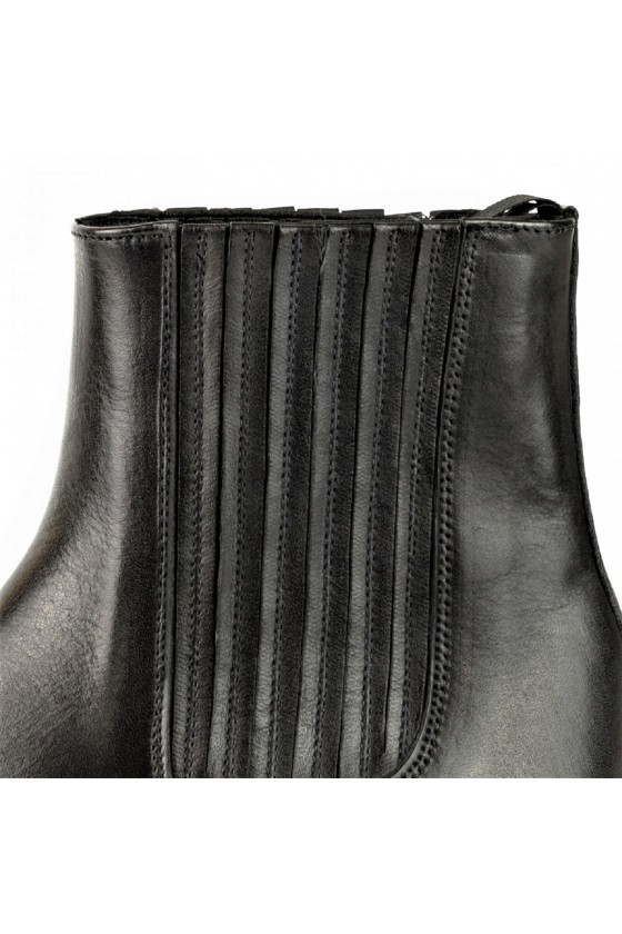 WOMEN'S ANKLE BOOTS MARIE NAPPA (black)