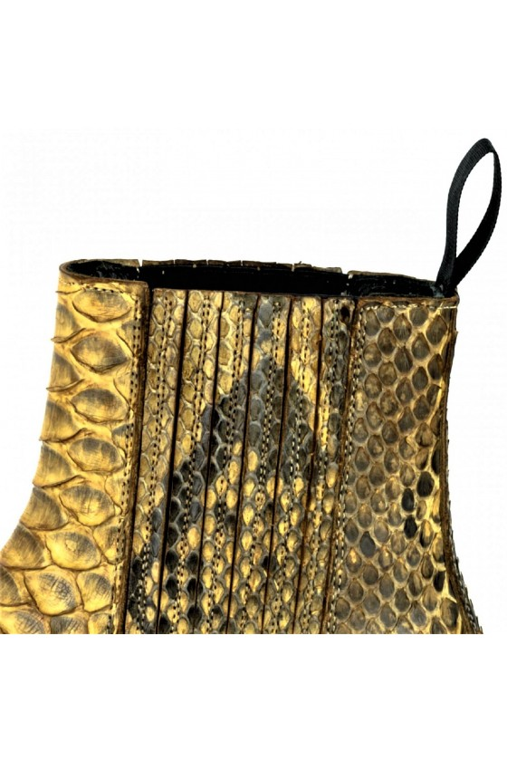 EXOTIC ANKLE BOOTS MARIE NAPPA (cuero)
