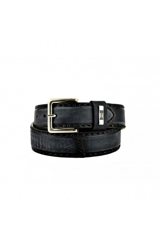 LEATHER BELT M-925 (worn black)