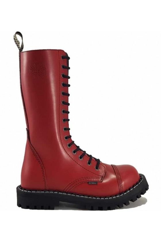 15 EYELETS BOOTS (red)