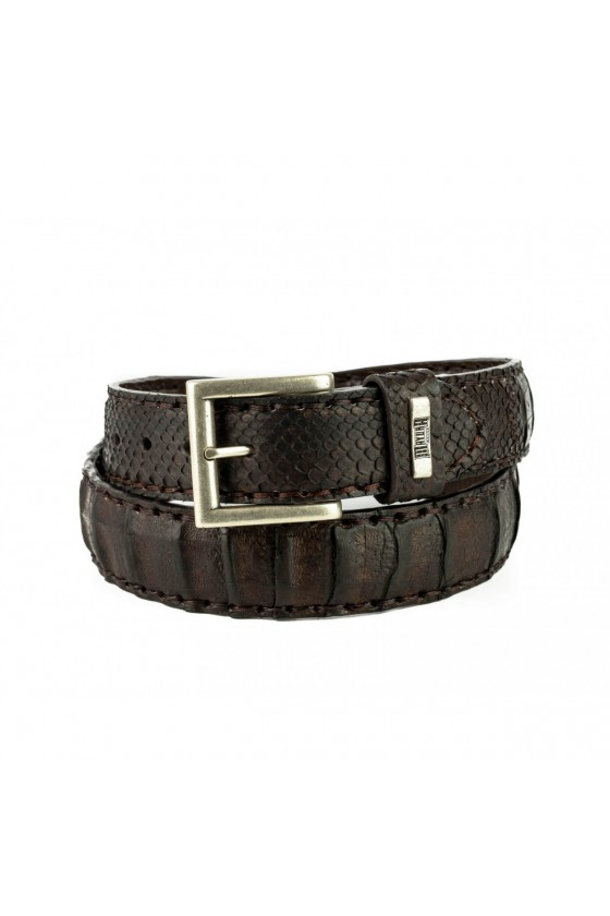 Decorative Leather Belt (brown)
